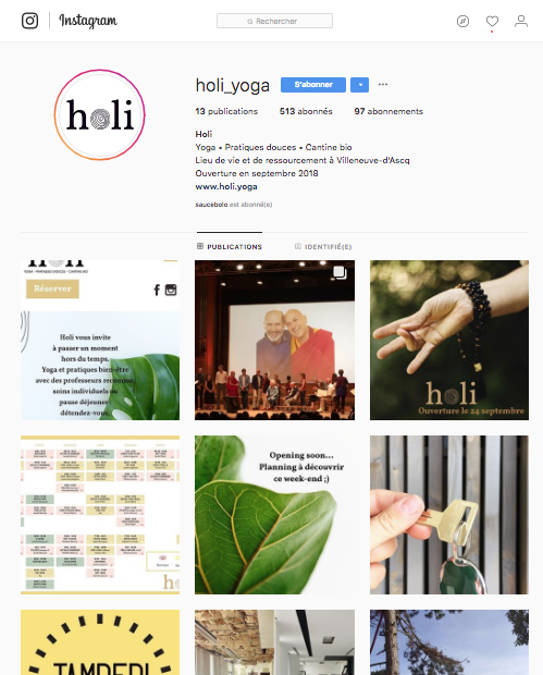 instagram holi yoga